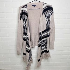 American Eagle open sweater cardigan size Small S boho bohemian casual comfy